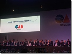 Posse do Conselho Federal da OAB